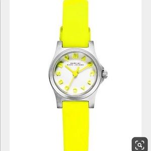 Marc by Marc Jacobs Neon Yellow Watch